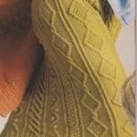 Sukně s irskými vzory