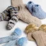 Ponožky z efektních přízí