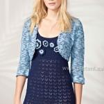 Letní šaty Seta a bolerko Algarve Color