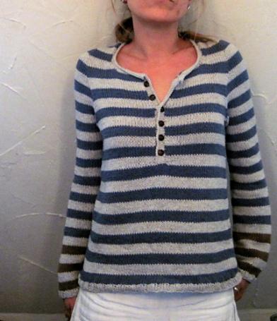 02aaa77b7e0f Návod na ručně pletený dámský svetr pro velikosti XS