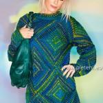 Lorna – svetr ze čtverců