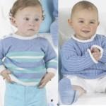 Dva dětské pulovry Baby Micro