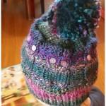 Sovičková pletená čapka pro Viki