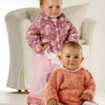 Dva dětské svetříky – Lolita a Fabia