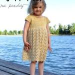 Dětské šaty Damasco