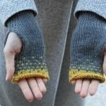 Dámské rukavice bez prstů