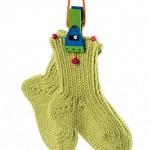 a1727f559cd Růžová srdíčková baretka · Teplé ponožky na malé nožky