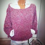 Oversize svetr