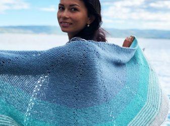 Pletený šátek Coast