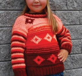 Dětský svetřík Flora