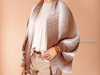 Pončo-kabátek Ambra Color