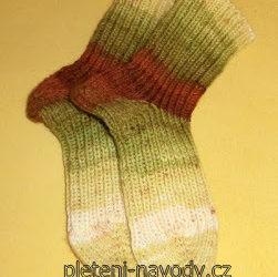 Můj způsob pletení ponožek