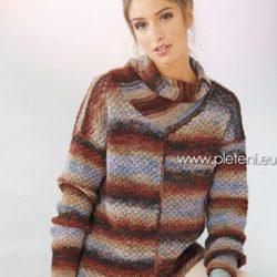 fb65e7d1346c pulovry a roláky – PLETENÍ – NÁVODY