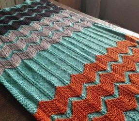 Vlnkovaná deka