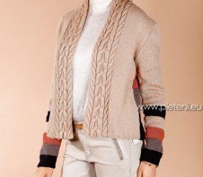 Dámský kabátek z příze Almeria