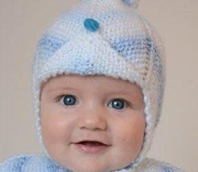 Pletená čiapočka pre bábätko