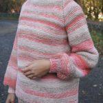 Dámský pletený svetr OVERSIZED