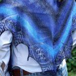 Šátek s krajkou