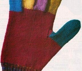 Prstové rukavice 4 velikostí